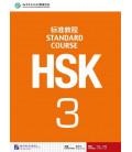 HSK Standard Course 3- Textbook (Livre + CD MP3) Série de livre de texte basée sur l'HSK