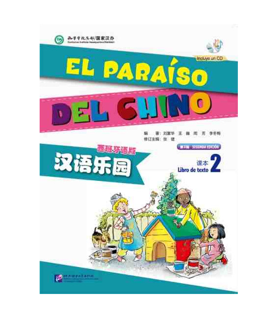 El Paraíso del Chino 2- Textbook (Book + CD)