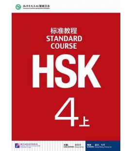HSK Standard Course 4A (Shang)- Textbook (Livre + CD MP3) Série de livres de texte basée sur l'HSK
