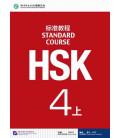 HSK Standard Course 4A (Shang)- Textbook (Libro + CD MP3) Serie de libro de texto basada en el HSK