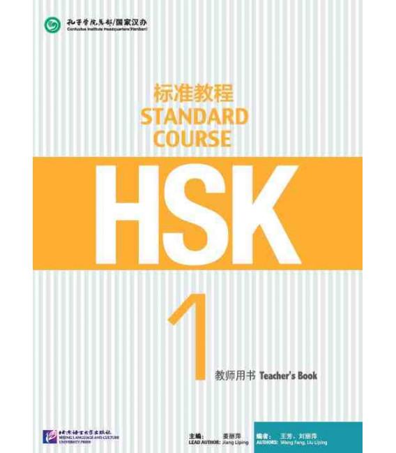 HSK Standard Course 1- Teacher`s Book- Serie de libro de texto basada en el HSK