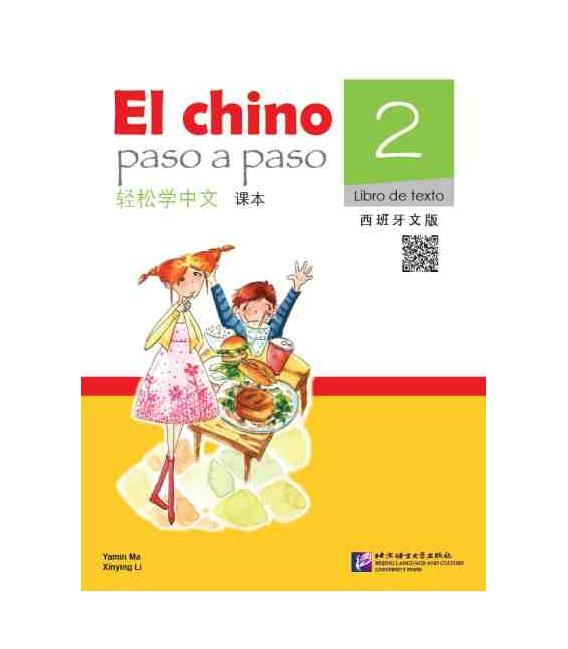 El Chino Paso a Paso 2 - Libro de texto (incluye CD)