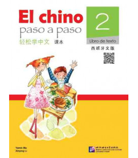 El Chino Paso a Paso 2 - Libro de texto (Includes CD and QR Code)