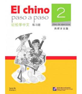 El Chino Paso a Paso 2 - Livre d'exercices