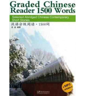 Graded Chinese Reader 1500 Words (CD-MP3 inclus + feuille pour cacher le pinyin)