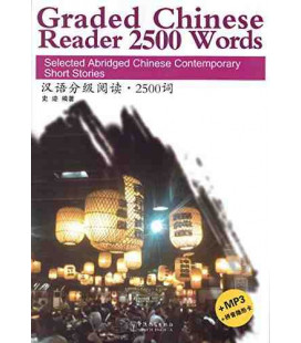 Graded Chinese Reader 2500 Words (included CD/MP3)