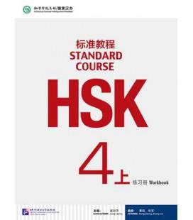 HSK Standard Course 4A (Shang)- Workbook (Livre + CD MP3) Série de livres de texte basée sur l'HSK