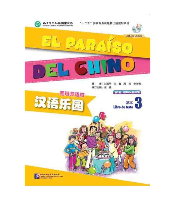 El Paraíso del chino 3- Libro de texto (Libro + CD)