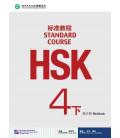 HSK Standard Course 4B (xia)- Workbook (Livre + CD MP3) Série de livres de texte basée sur l'HSK