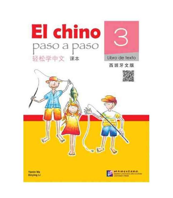El Chino Paso a Paso 3 - Libro de texto (QR Code included)