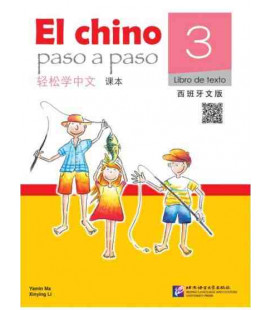 El Chino Paso a Paso 3 - Libro de texto (CD and QR Code included)