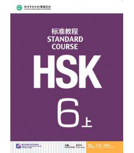 HSK Standard Course 6A (shang)- Textbook (Libro + CD MP3) Serie di libri di testo basata sull'HSK