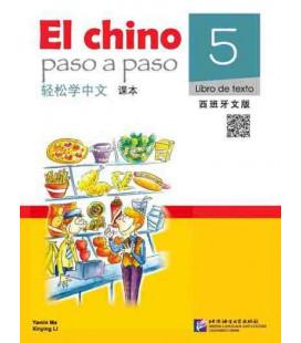 El Chino Paso a Paso 5 - Libro di testo (CD y Codice QR incluso)