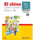 El Chino Paso a Paso 5 - Libro de texto (CD and QR Code included)