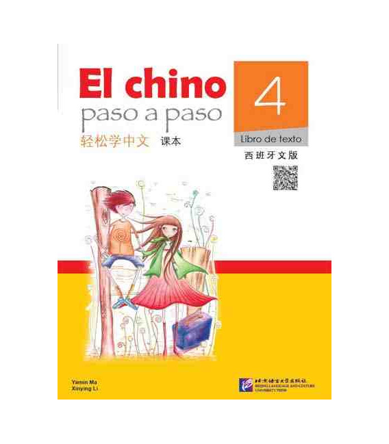 El Chino Paso a Paso 4 - Libro de texto (Includes QR Code)