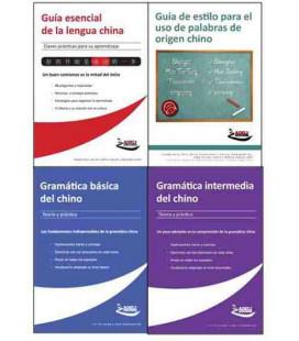 Pack Completo Adeli: (Guía esencial + Guía de estilo + Gramática básica + Gramática intermedia)