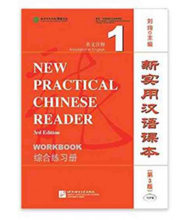 New Practical Chinese Reader (3rd Edition) Worbook 1 (Book + CD MP3)