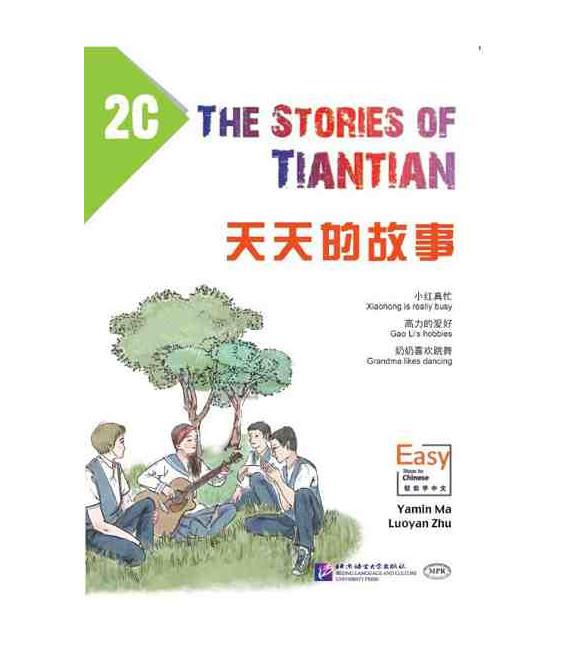 The Stories of Tiantian 2C- avec Code QR pour le téléchargement des audios