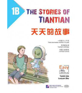 The Stories of Tiantian 1B- con Codice QR per il download degli audios
