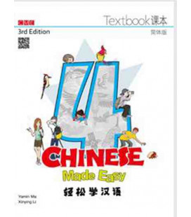 Chinese Made Easy 4 (3rd Edition)- Textbook (QR-Code für Audios)