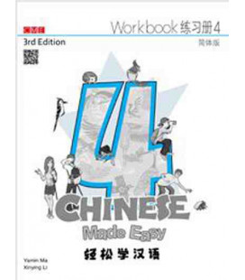 Chinese Made Easy 4 (3rd Edition)- Workbook (con Codice QR per il download degli audio)
