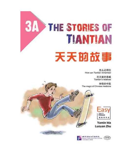 The Stories of Tiantian 3A- con Codice QR per il download degli audio