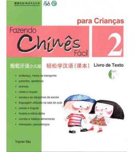 Fazendo chinês fácil para crianças 2- Livro de texto (CD inclus)