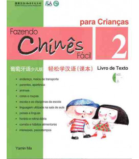 Fazendo chinês fácil para crianças 2- Textbuch (mit CD)
