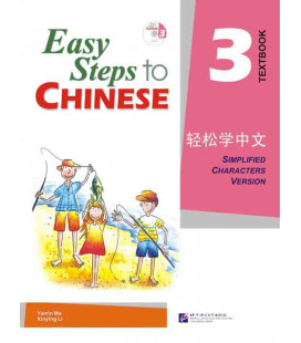 Easy Steps to Chinese 3 - Textbook (CD incluso)
