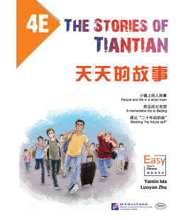 The Stories of Tiantian 4E- con Codice QR per download degli audio