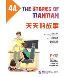The Stories of Tiantian 4A- con Codice QR per il download degli audio
