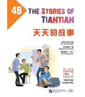 The Stories of Tiantian 4B- con Codice QR per il download degli audio