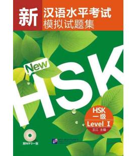 Simulated Test of The New HSK Level 1 (Incluye código QR)