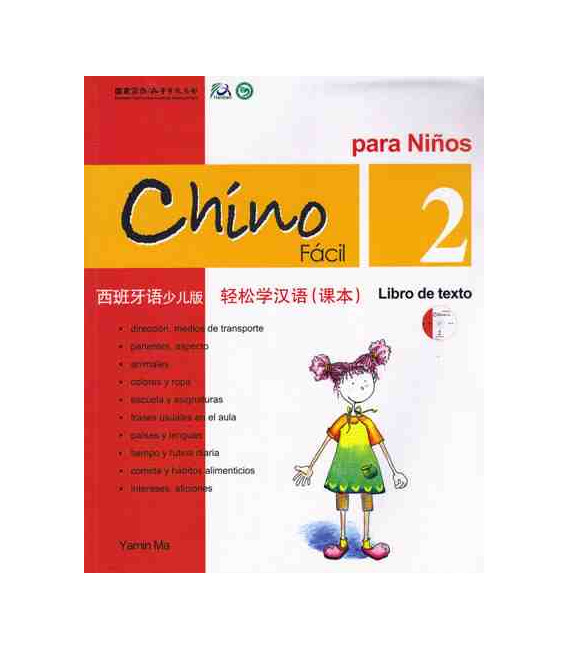Chino fácil para niños 2. Textbook (CD included)