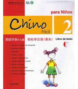 Chino fácil para niños 2. Libro di Testo (CD incluso)