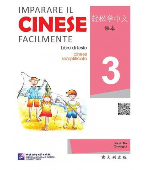 Imparare il cinese facilmente - Libro di testo 3 (CD incluso)