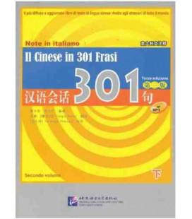 Il Cinese in 301 frasi Vol.2 (Troisième ed) + CD MP3