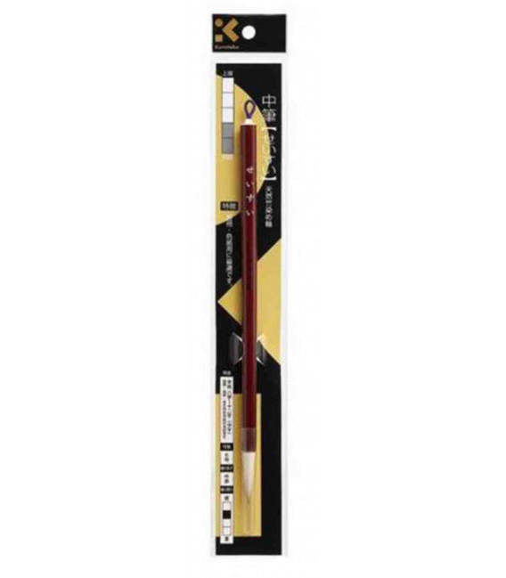 Pennello per Calligrafia - Kuretake JC329-6S (Formato Medio) Livello iniziale/intermedio