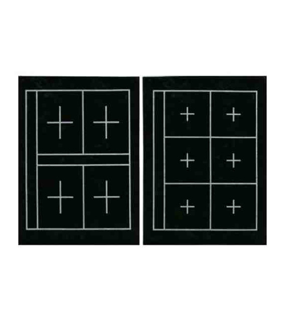 Kuretake's calligraphy mat KA23101 (36*27 cm - two sides, 6 and 4 squares in each side)
