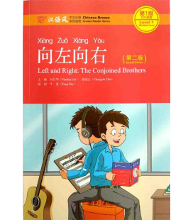 Left and Right: The Conjointed Brothers- Level 1: 300 words- 2nd edition (Audio en código QR)
