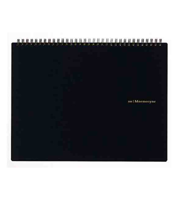 Maruman Mnemosyne Notebook N180A (Format A4) - Quadrillage de 5 mm
