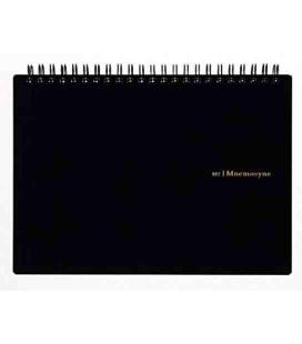 Maruman Mnemosyne Notebook N182A (Formato A5) - Quadretti di 5 mm
