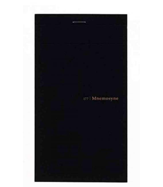 Maruman Mnemosyne Notebook N177A - Cuadrículas 5 mm (la hoja se divide en dos)