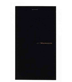 Maruman Mnemosyne Notebook N177A - A quadretti di 5 mm (il foglio si divide in due)