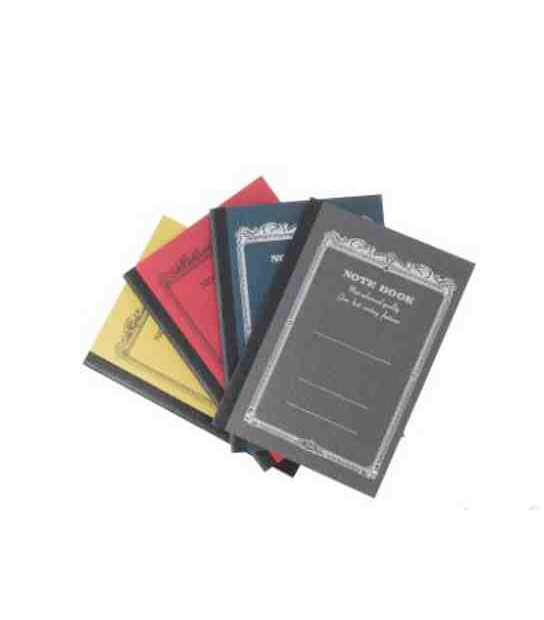 Apica CD9 Notebook - Format A7 (pack of 4 notebooks in 4 different colours)