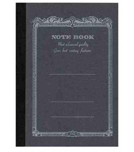 Apica CD10-BK Notebook (Tamaño A6 - color negro - 104 páginas)