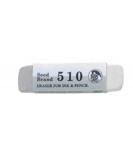 Seed Eraser 510 - Eraser for pencil and ink (imported from Japan)