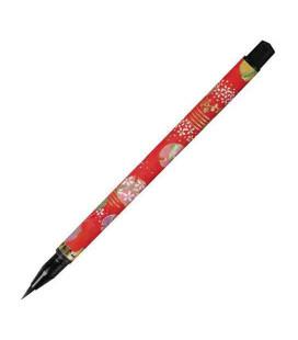 """Akashiya """"Koto"""" Brush Pen (motif aléatoire parmi 7 modèles)"""