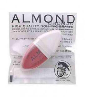 Seed Eraser Almond - Gomma per matita di alta qualità (In PVC) - importato dal Giappone