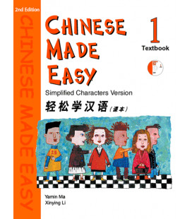 Chinese Made Easy 1 - Textbook (CD inclus)